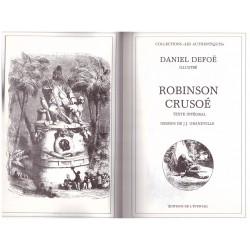 Robinson Crusoe DEFOE Daniel GRANDVILLE Jean Jacques L' éventail