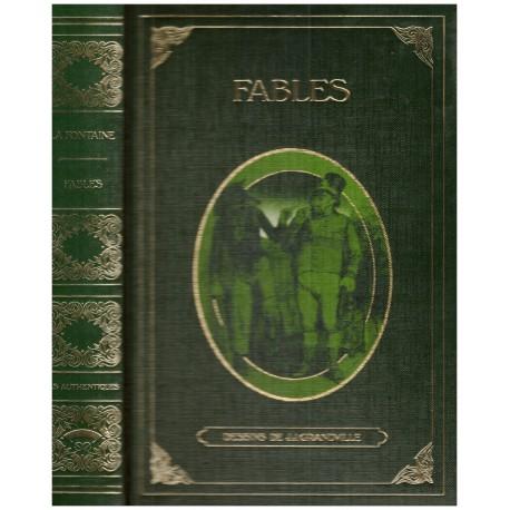 Fables illustrées par Grandville LA FONTAINE Jean de GRANDVILLE Jean Jacques L' éventail 0710377715987 Book