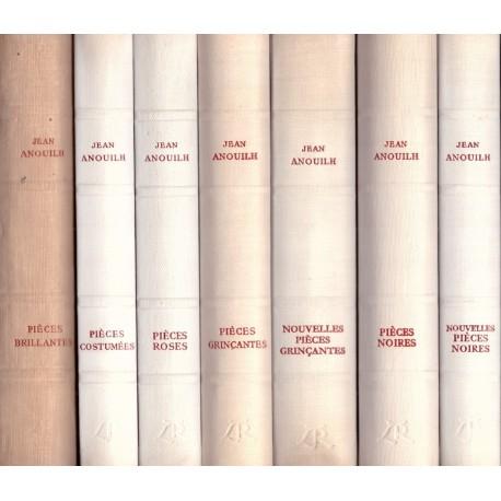 Oeuvres: Pièces de théâtre 7V ANOUILH Jean La Table Ronde Book