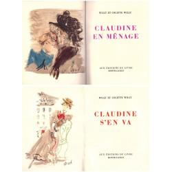 Claudine 4/4V COLETTE BERARD Christian Editions du livre Monte-Carlo 0710377713037