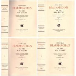 Beaumarchais sa vie et son oeuvre : Mémoires et théâtre complet 4/4V