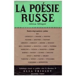 La poésie russe TRIOLET Elsa Seghers