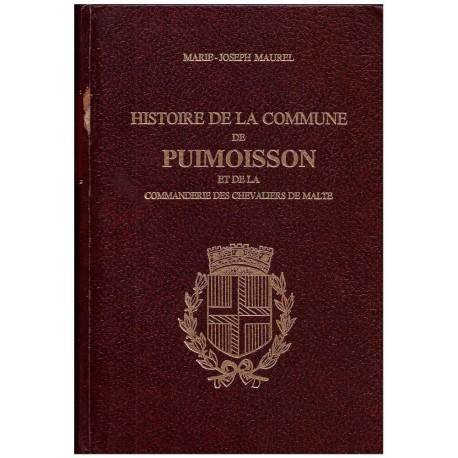 Histoire de la commune Puimoisson et de la commanderie des chevaliers de Malte