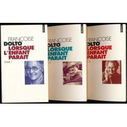 Lorsque l' enfant parait Tome 1 - 2 - 3 DOLTO Françoise Seuil 9782020386319