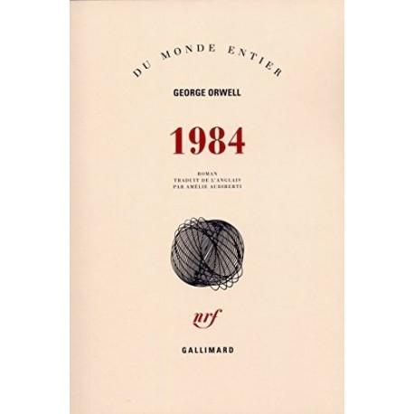 1984 ORWELL Georges Gallimard 9782070248100
