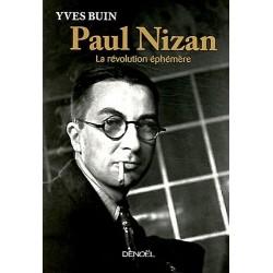 Paul Nizan BUIN Yves Denoel 9782207109397
