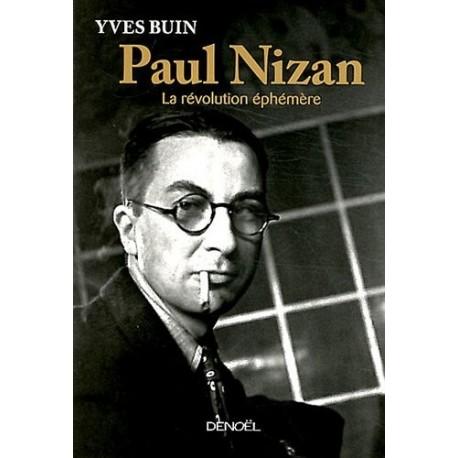Paul Nizan BUIN Yves Denoel 9782207109397 Book