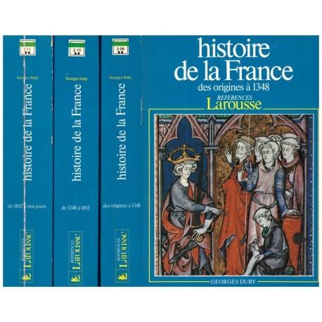 Histoire de France 3/3V DUBY Georges Larousse