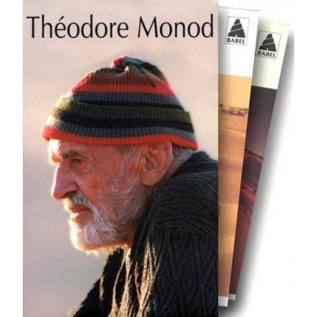 Théodore Monod Coffret 3V: L'émeraude des Garamantes Terre et ciel Méharées MONOD Théodore Actes Sud 9782742730957