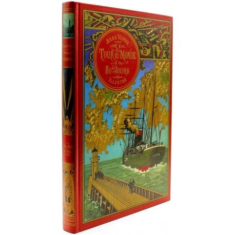 Le tour du monde en 80 jours VERNE Jules BENETT et NEUVILLE Editions de Lodi (EDL)