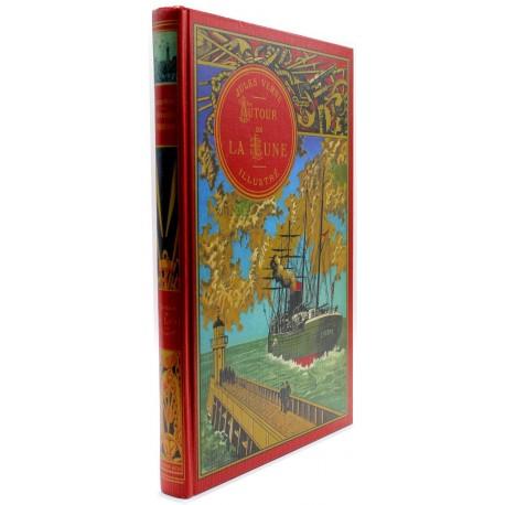 Autour de la Lune VERNE Jules BAYARD et NEUVILLE Editions de Lodi EDL