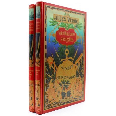 Vingt mille lieues sous les mers 2/2V VERNE Jules NEUVILLE Alphonse de Editions de Lodi EDL