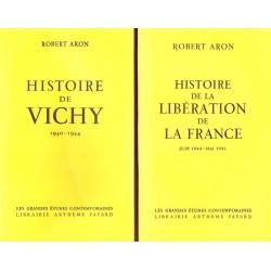 Histoire de Vichy et de la libération de la France 2V ARON Robert Fayard