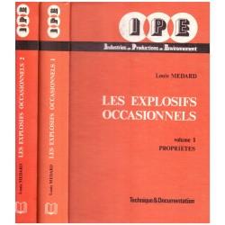 Les explosifs occasionnels 2/2V MEDARD Louis Lavoisier - Tec & Doc