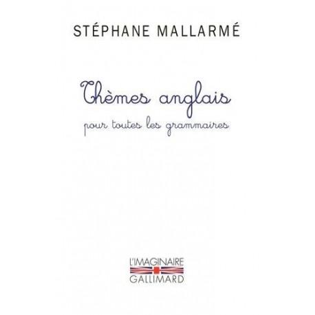 Thèmes anglais pour toutes les grammaires 9782070129461 Book