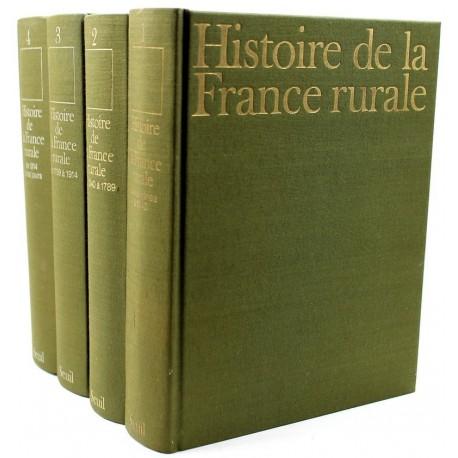 Histoire de la France rurale 4/4V COLLECTIF Seuil 9782020193993