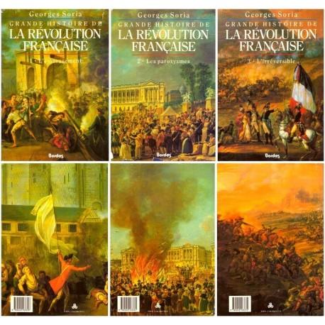 Grande histoire de la révolution française 3/3V SORIA Georges Bordas