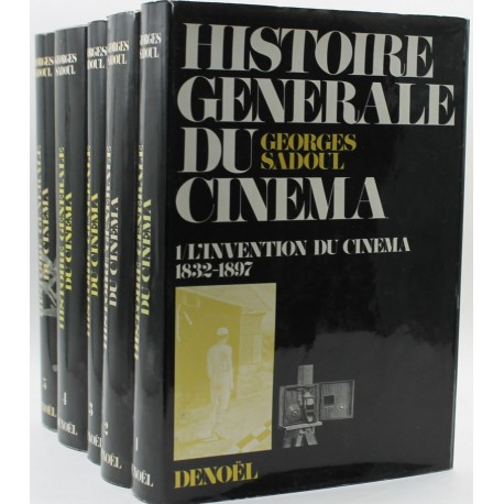 Histoire générale du cinéma 5V