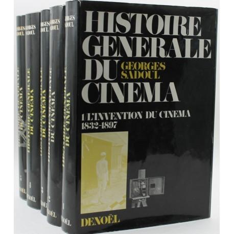 Histoire générale du cinéma 5V SADOUL Georges Denoel