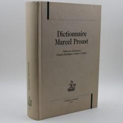 Dictionnaire Marcel Proust BOUILLAGUET Annick ROGERS Brian Honoré CHAMPION 9782745309563