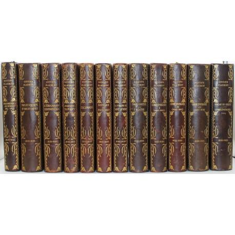 Oeuvres complètes illustrées FLAUBERT Gustave DUNOYER DE SEGONZAC André GIRIEUD Pierre LOMBARD Alfred OUVRE Achille NAUDIN Berna