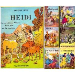 Heidi 5/5V JODELET Charles Emmanuel Flammarion 0710377712856