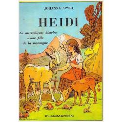 Heidi 7/7V Intégral SPYRI Johanna JODELET Charles Emmanuel Flammarion 0710377712856