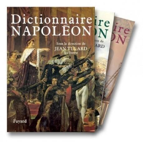 Dictionnaire Napoléon 2/2V TULARD Jean Fayard 9782702827574