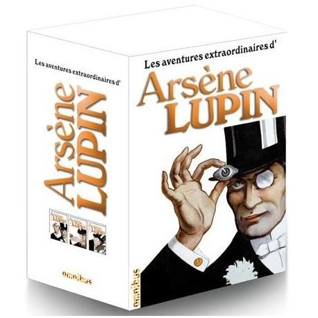 Les aventures extraordinaires d' Arsène Lupin Coffret 3 volumes 9782258100305 Livre