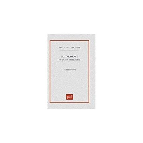 Lautréamont Les chants de Maldoror Hugotte, Valéry Presses universitaires de France 9782130499718