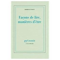 Façons de lire, manières d'être Macé, Marielle Gallimard 9782070133031 Book