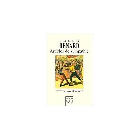 Articles de sympathie Renard, Jules les éd. de Paris 9782905291424