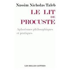 Le lit de Procuste Taleb, Nassim Nicholas Les Belles Lettres 9782251444352