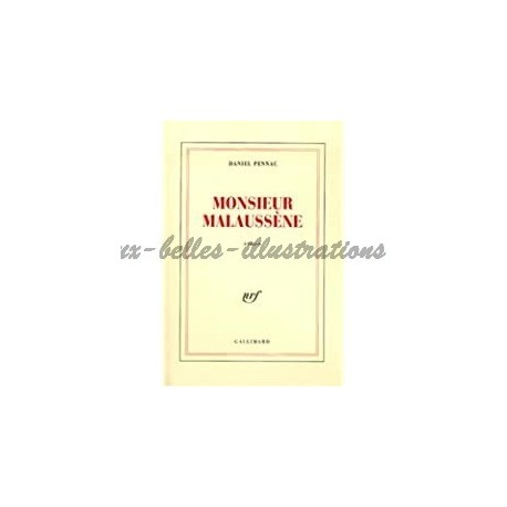 Monsieur Malaussène Pennac, Daniel Gallimard 9782070731404 Book