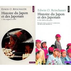 Histoire du Japon et des Japonais 2/2V Reischauer, Edwin Oldfather Seuil 9782020006750