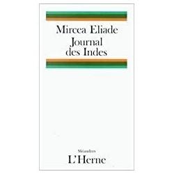 Journal des Indes Eliade, Mircea Ed. de l'Herne 9782851972187 Book