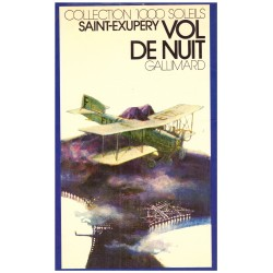 Vol de nuit Saint-Exupéry, Antoine de Gallimard Jeunesse 9782070500093 Book