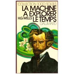 La machine a explorer le temps Wells, Herbert George Héron Jean Olivier Gallimard Jeunesse 9782070500109