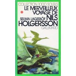 Le Merveilleux voyage de Nils Holgersson à travers la Suède Lagerlöf, Selma Schmid, Eléonore Gallimard Jeunesse 9782070500345 Bo
