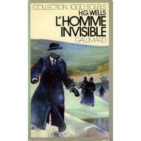L'Homme invisible Wells, Herbert George Gallimard Jeunesse 9782070500895