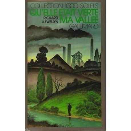 Qu'elle était verte ma vallée! Llewellyn, Richard Gallimard Jeunesse 9782070501533 Book