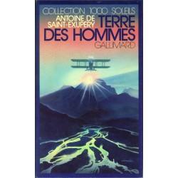 Terre des hommes Saint-Exupéry, Antoine de Gallimard Jeunesse 9782070501502 Book