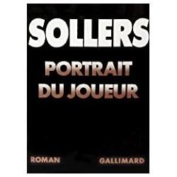 Portrait du joueur Sollers, Philippe Gallimard 9782070703173