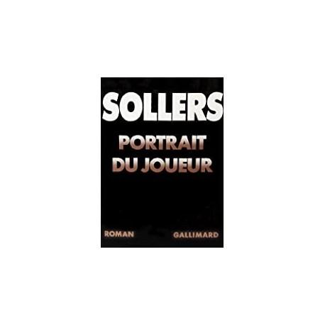 Portrait du joueur Sollers, Philippe Gallimard 9782070703173 Book