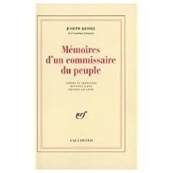 Mémoires d'un commissaire du peuple Kessel, Joseph Gallimard 9782070713431 Book