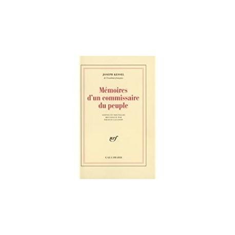 Mémoires d'un commissaire du peuple Kessel, Joseph Gallimard 9782070713431