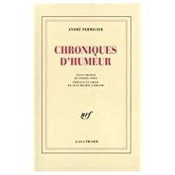 Chroniques d'humeur Fermigier, André Gallimard 9782070722013