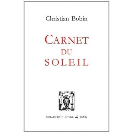 Carnet du soleil 9782914577489 Book