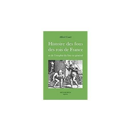 Histoire des fous des rois de France Canel, Alfred Futur luxe nocturne 9782362480003