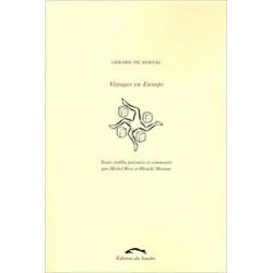 Voyages en Europe Nerval, Gérard de Éd. du Sandre 9782358210652